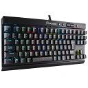 CORSAIR コルセア 有線ゲーミングキーボード [USB・Win] K65 RAPIDFIRE CherryMX Speed RGB COMPACT(91キー・日本…