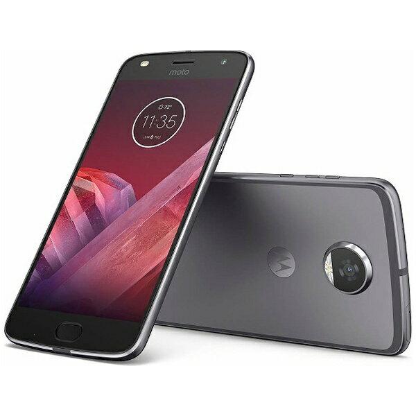 【送料無料】 モトローラ Moto Z2 Playルナグレー「AP3835AC3J4」 Snapdragon 626 5.5型・メモリ/ストレージ:4GB/64GB nanoSIMx2 ドコモ/YmobileSIM対応 SIMフリースマートフォン[AP3835AC3J4]