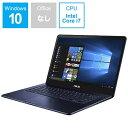 【送料無料】 ASUS 15.6型ノートPC[Win10 Home・Core i7・SSD 512GB・メモリ 16GB] ASUS ZenBook Pro ロ...