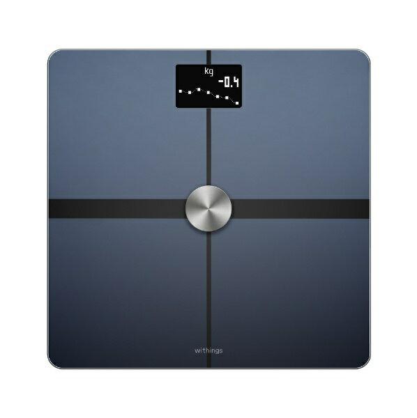 【送料無料】 NOKIA スマート体重体組成計(Wi-Fi/Bluetooth対応)「Body+」 WBS05-BLACK-ALL-JP (ブラック)[WBS05BLACKALLJP]