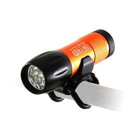 DOPPEL GANGER ドッペルギャンガー ヘッドライト LEDライト(ブラック×オレンジ) DLF300-OP