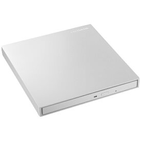 I-O DATA アイ・オー・データ ポータブルDVDドライブ[USB 3.0・Mac/Win] ホワイト DVRP-UT8LWA[DVRPUT8LWA]