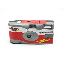 AGFA アグフア AGFA LeBox Flash ワンタイムカメラ(カラーネガ 27撮りワンタイム)