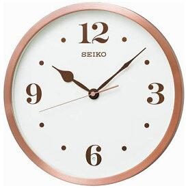 セイコー SEIKO 掛け時計 【スタンダード】 ピンク KX226P [電波自動受信機能有]