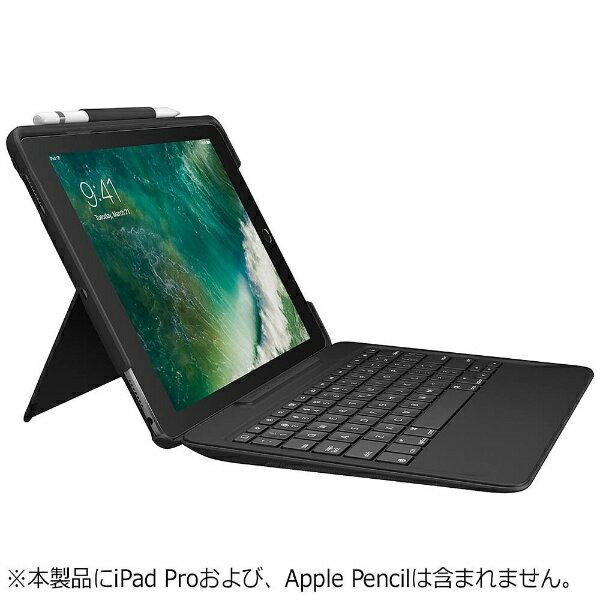 【送料無料】 ロジクール 10.5インチiPad Pro用 ロジクール SLIM COMBO iK1092 Smart Connectorテクノロジー搭載取り外し可能バックライトキーボード付きケース ブラック iK1092BKA