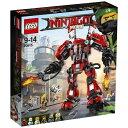 【送料無料】 レゴジャパン LEGO(レゴ) 70615 ニンジャゴー カイのファイヤーメカ