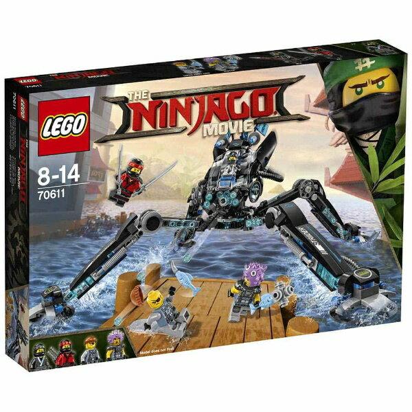 レゴジャパン LEGO(レゴ) 70611 ニンジャゴー ニャーのウォーター・ストライダー