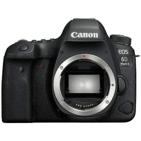 【送料無料】 キヤノン CANON EOS 6D Mark II(WG)【ボディ(レンズ別売)】/デジタル一眼レフカメラ