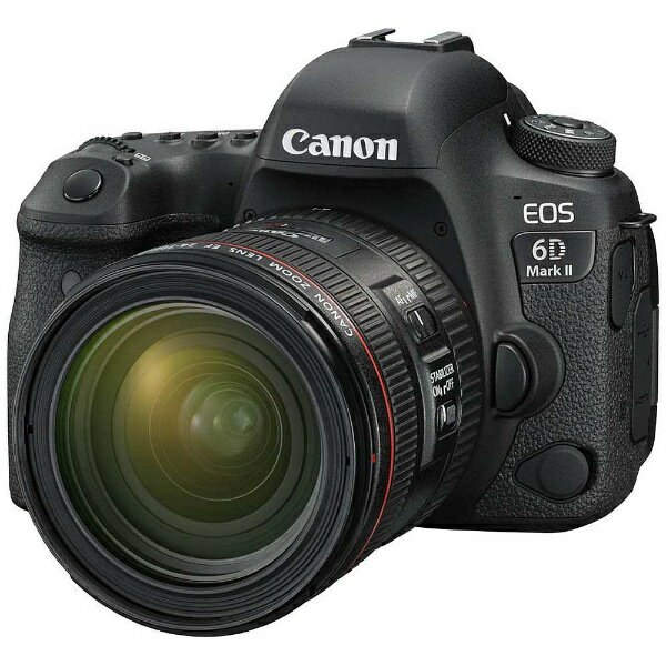 キヤノン CANON EOS 6D Mark II(WG)【EF24-70L IS USM レンズキット】/デジタル一眼レフカメラ[EOS6DMK22470ISLK]