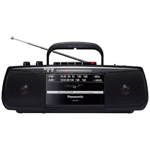 パナソニック Panasonic RX-FS27 ラジカセ ブラック [ワイドFM対応][RXFS27K] panasonic