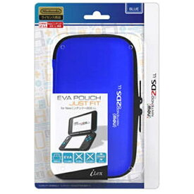 アイレックス EVA Pouch Just Fit for New ニンテンドー 2DS LL ブルー ILX2L230[New2DS LL]