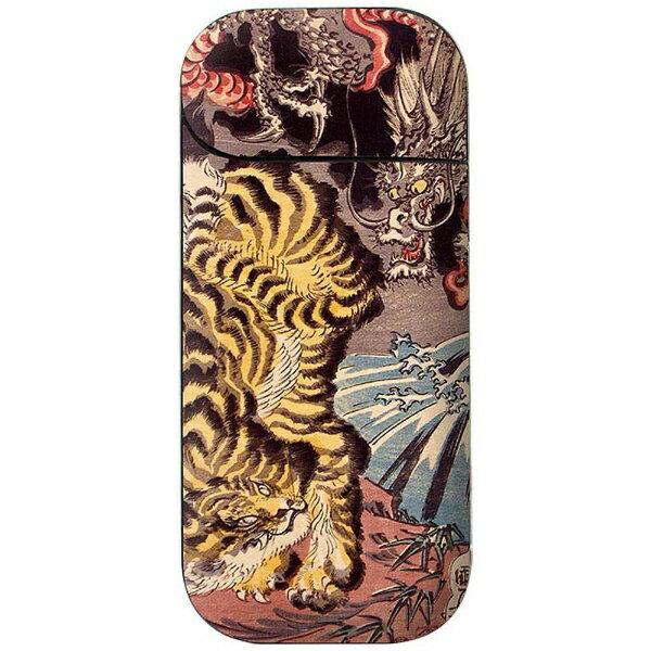 FANTASTICK 電子タバコIQOS用ステッカー Oriental Tiger 「Fantastick Fantasticker」 IQ031-16B754-01