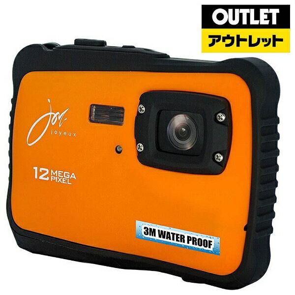 【送料無料】 ジョワイユ 【アウトレット品】防水コンパクトデジタルカメラ オレンジ JOY500C3OR【生産完了品】JOY500C3OR【kk9n0d18p】