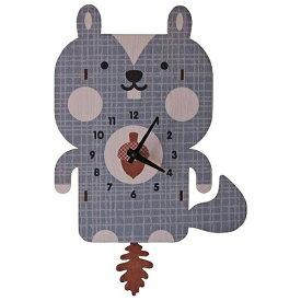ダイヤモンド 掛け時計 3Dリス振り子時計 PCPEN030 modern moose(モダンムース) 9806005