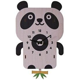 ダイヤモンド 掛け時計 3Dパンダ振り子時計 PCPEN027 modern moose(モダンムース) 9806008