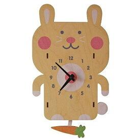 ダイヤモンド 掛け時計 3Dウサギ振り子時計 PCPEN023 modern moose(モダンムース) 9806004