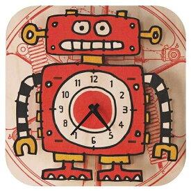 ダイヤモンド 掛け時計 3Dロボット PC012 modern moose(モダンムース) 9806024