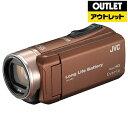 JVC ジェイブイシー 【アウトレット品】ビデオカメラ Everio(エブリオ) [メモリ 32GB/フルハイビジョン] GZ-F200 …