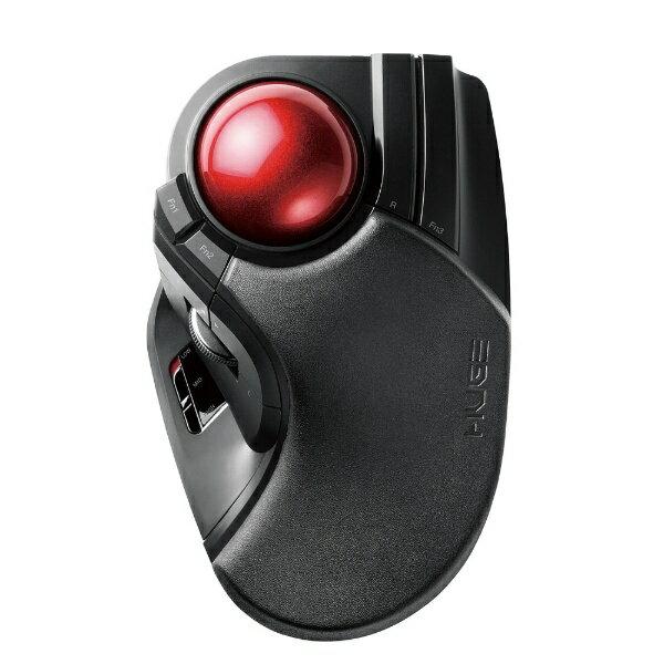 エレコム ELECOM ワイヤレストラックボールマウス[2.4GHz USB・Mac/Win](8ボタン・ブラック) M-HT1DRBK[MHT1DRBK]