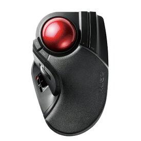 エレコム ELECOM M-HT1DRBK マウス HUGE ブラック [光学式 /8ボタン /USB /無線(ワイヤレス)][MHT1DRBK]