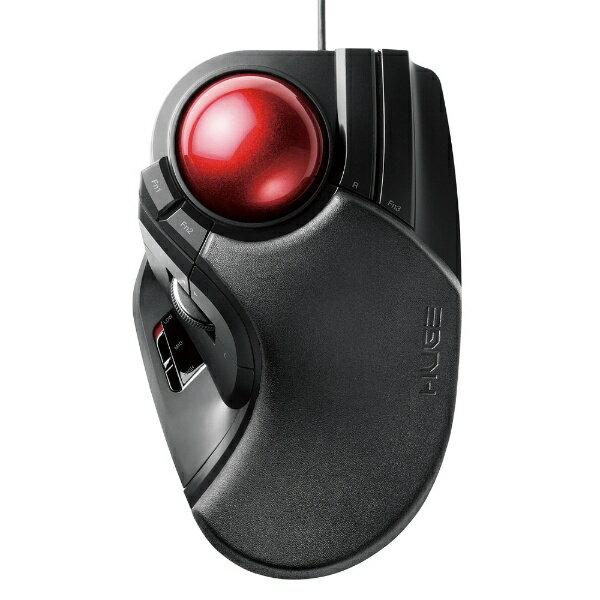 エレコム 有線トラックボールマウス[USB・Mac/Win](8ボタン・ブラック) M-HT1URBK