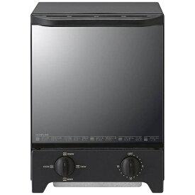 コイズミ KOIZUMI オーブントースター ブラック KOS-1021-K[KOS1021K] [縦型 一人暮らし おしゃれ 新生活 家電]