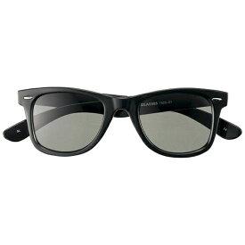 名古屋眼鏡 Nagoya Gankyo ファッションサングラス 7525-01(ブラック/グリーンスモーク)