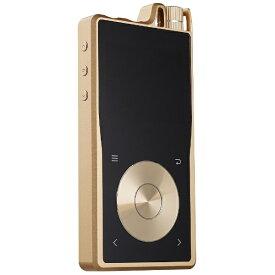 QUESTYLE クエスタイル デジタルオーディオプレーヤー ゴールド QP2R-G [64GB /ハイレゾ対応][QP2RG]