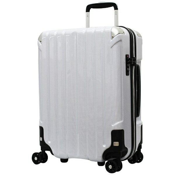 シフレ siffler TSAロック搭載スーツケース TRI2048-50 CWHカーボンホワイト
