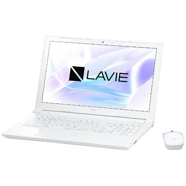NEC エヌイーシー PC-NS150HAW ノートパソコン LAVIE Note Standard エクストラホワイト [15.6型 /intel Celeron /HDD:1TB /メモリ:4GB /2017年7月モデル][PCNS150HAW]