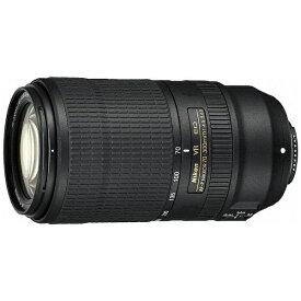 ニコン Nikon カメラレンズ AF-P NIKKOR 70-300mm f/4.5-5.6E ED VR NIKKOR(ニッコール) ブラック [ニコンF /ズームレンズ][AFPVR70300E]