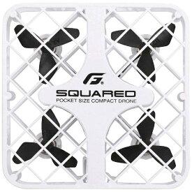ジーフォース GFORCE ドローン SQUARED(スクアード) ホワイト GB431[GB431]