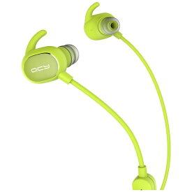 QCY キューシーワイ bluetooth イヤホン カナル型 Green QCY-QY19 [リモコン・マイク対応 /ワイヤレス(左右コード) /Bluetooth][QCYQY19GR]