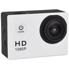 SAC エスエーシー AC150 アクションカメラ ホワイト [フルハイビジョン対応 /防水][AC150WH]