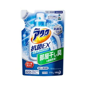 花王 Kao Attack(アタック) 抗菌EX スーパークリアジェル つめかえ用 770g【wtnup】
