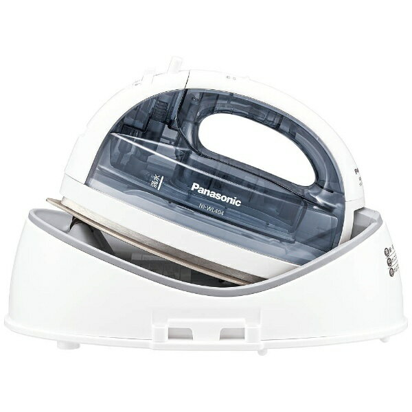 パナソニック Panasonic NI-WL404 コードレスアイロン CaRuRu(カルル) クリアグレー [ハンガーショット機能付き][NIWL404H] panasonic