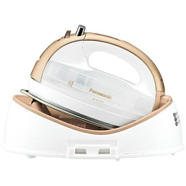 パナソニック Panasonic NI-WL704 アイロン CaRuRu(カルル) ゴールド [ハンガーショット機能付き][NIWL704N] panasonic