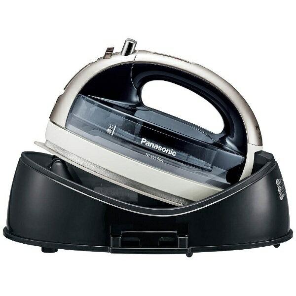 パナソニック Panasonic NI-WL604 コードレスアイロン CaRuRu(カルル) シルバー [ハンガーショット機能付き][NIWL604S] panasonic