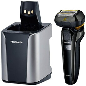 パナソニック Panasonic ES-CLV9C メンズシェーバー ラムダッシュ シルバー調 [5枚刃 /国内・海外対応][ESCLV9CS]【0426_rb】