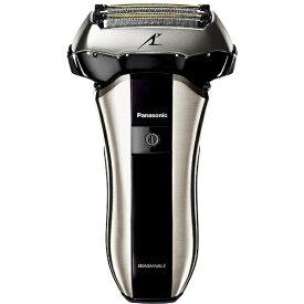 パナソニック Panasonic メンズシェーバー[国内・海外対応] LAMDASH(ラムダッシュ) シルバー調 ES-CV70-S [5枚刃 /AC100V-240V][電気シェーバー 男性 髭剃り ESCV70S]
