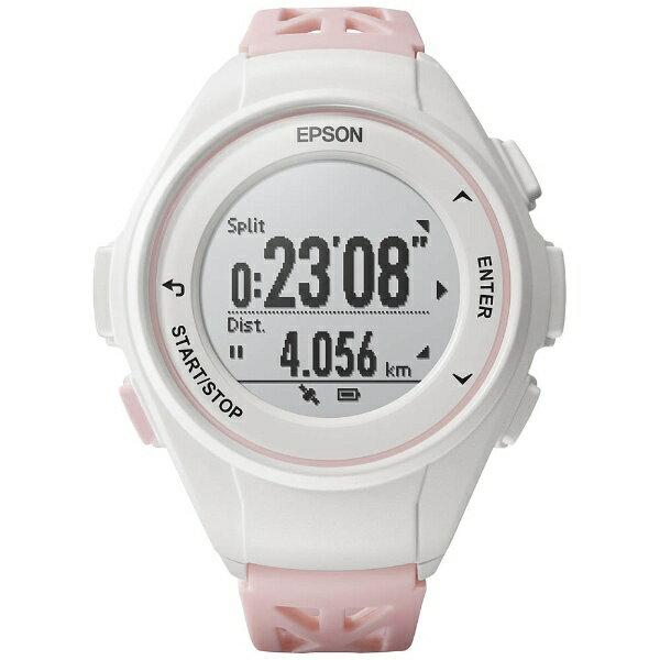 エプソン EPSON GPSランニングウオッチ 「WristableGPS」 Q-10P ピンク