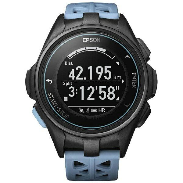 【送料無料】 エプソン EPSON GPSランニングウオッチ 「WristableGPS」 J-300T ターコイズブルー