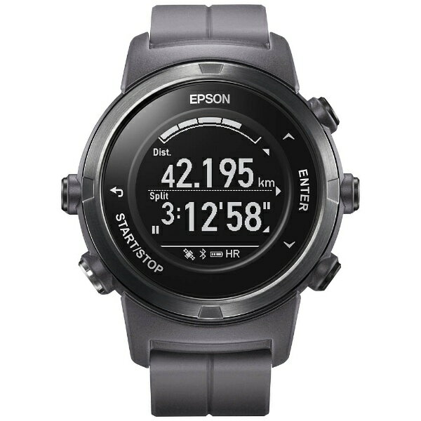 【送料無料】 エプソン EPSON GPSランニングウオッチ 「WristableGPS」 J-350F フロスティグレー[J350F]