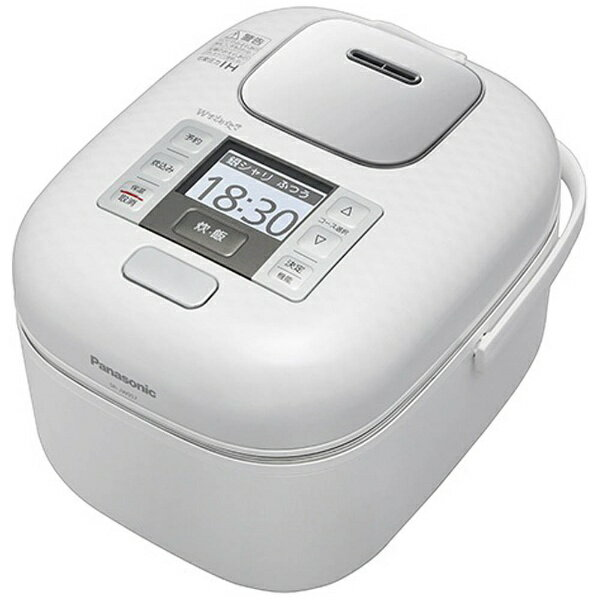 【送料無料】 パナソニック Panasonic 可変圧力IH炊飯ジャー 「Wおどり炊き」(3合) SR-JW057-W 豊穣ホワイト[SRJW057] panasonic