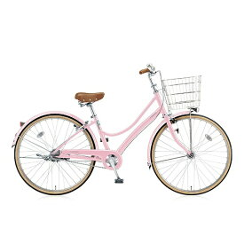 ブリヂストン BRIDGESTONE 27型 自転車 エブリッジL(E.Xサクラピンク/3段変速) EB73LT【2017年/点灯虫モデル】【組立商品につき返品不可】 【代金引換配送不可】