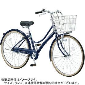 ブリヂストン BRIDGESTONE 27型 自転車 エブリッジL(E.Xノーブルネイビー/3段変速) EB73LT【2017年/点灯虫モデル】【組立商品につき返品不可】 【代金引換配送不可】