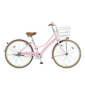 ブリヂストン BRIDGESTONE 26型 自転車 エブリッジL(E.Xサクラピンク/3段変速) EB63LT【2017年/点灯虫モデル】【組立商品につき返品不可】 【代金引換配送不可】