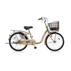 ブリヂストン BRIDGESTONE 22型 自転車 アルミーユ ミニ(M.Xプレシャスベージュ/3段変速) AU23T【2017年/点灯虫モデル】【組立商品につき返品不可】 【代金引換配送不可】
