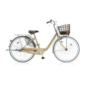 ブリヂストン BRIDGESTONE 24型 自転車 アルミーユ(M.Xプレシャスベージュ/3段変速) AU43T【2017年/点灯虫モデル】【組立商品につき返品不可】 【代金引換配送不可】
