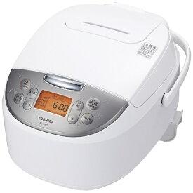 東芝 TOSHIBA RC-10MSL-W 炊飯器 ホワイト [5.5合 /マイコン][RC10MSLW]